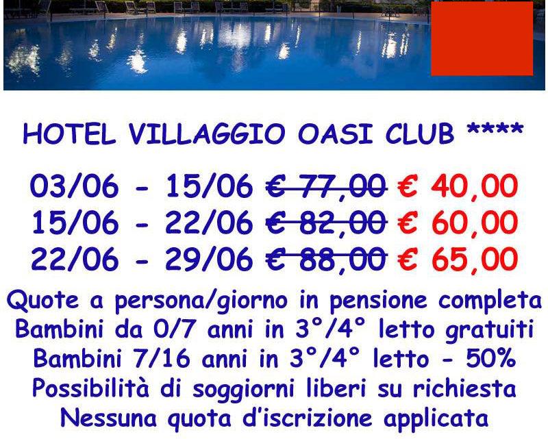 Nuova convenzione con alberghi a Vieste